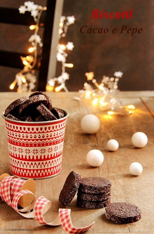 Biscotti Come Regalo Di Natale.Biscotti Cacao E Pepe Cucchiaio E Pentolone